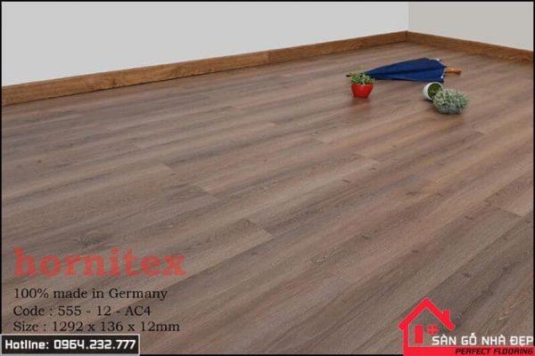 sàn gỗ hornitex 12ly 555