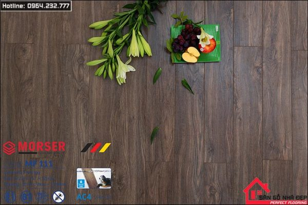 sàn gỗ morser 12ly MF111