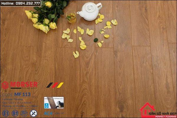 sàn gỗ morser 12ly MF113