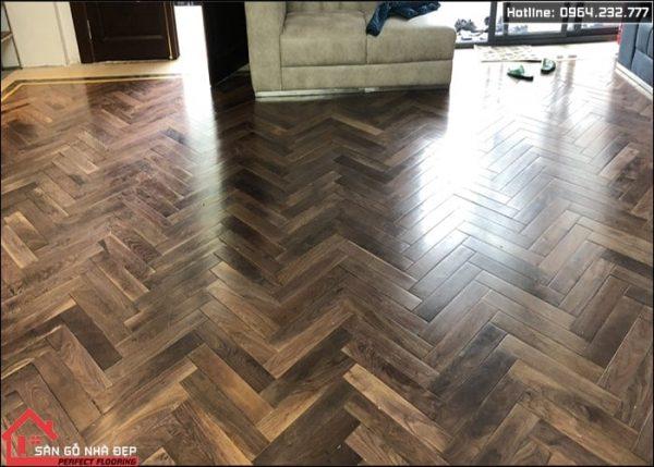 sàn gỗ tự nhiên óc chó