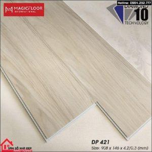 sàn nhựa hèm khóa 4.2ly DP421
