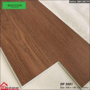 sàn nhựa hèm khóa 3.5ly DP3501