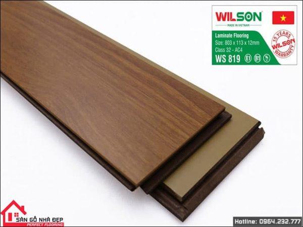 sàn gỗ wilson w819