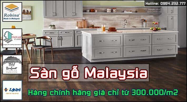 Banner sàn gỗ Malaysia