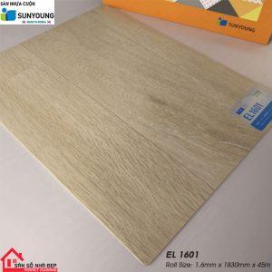 Sàn nhựa cuộn Sunyoung el1601