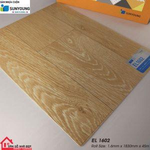 Sàn nhựa cuộn Sunyoung el1602