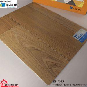 Sàn nhựa cuộn Sunyoung el1603