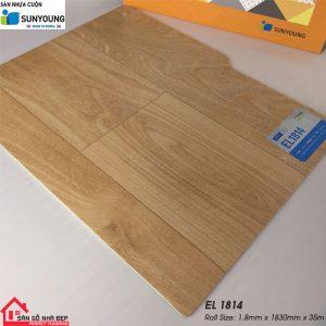 Sàn nhựa cuộn Sunyoung el1814