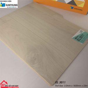 Sàn nhựa cuộn Sunyoung EL3011