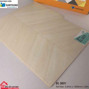 Sàn nhựa cuộn Sunyoung EL3031