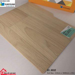 Sàn nhựa cuộn Sunyoung EL3032