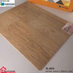 Sàn nhựa cuộn Sunyoung EL4533