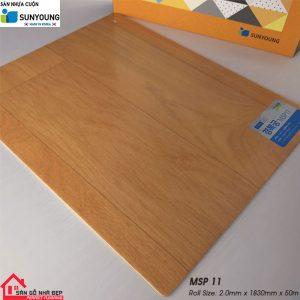Sàn nhựa cuộn Sunyoung msp11