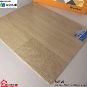 Sàn nhựa cuộn Sunyoung msp21
