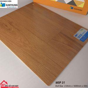 Sàn nhựa cuộn Sunyoung msp31