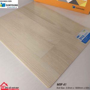 Sàn nhựa cuộn Sunyoung msp41