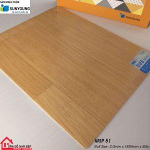 Sàn nhựa cuộn Sunyoung msp51