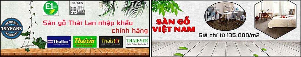Banner sàn gỗ Việt Nam Thái Lan