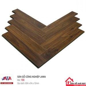Sàn gỗ Jawa Xương cá 166