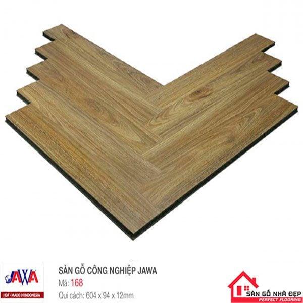Sàn gỗ Jawa Xương cá 168