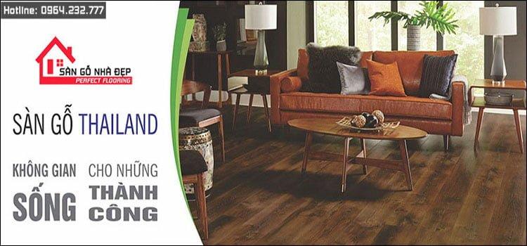 Sàn gỗ nhập khẩu Thái Lan