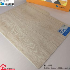 Sàn nhựa cuộn Sunyoung el1815