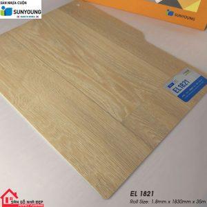Sàn nhựa cuộn Sunyoung el1821