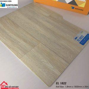 Sàn nhựa cuộn Sunyoung el1822