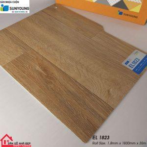 Sàn nhựa cuộn Sunyoung el1823