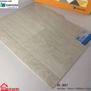 Sàn nhựa cuộn Sunyoung el1831