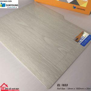 Sàn nhựa cuộn Sunyoung el1833