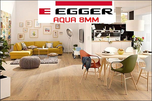 Sàn gỗ Egger Aqua 8mm