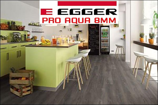Sàn gỗ Egger Pro Aqua 8mm
