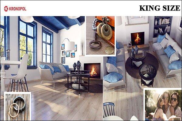 Sàn gỗ Kronopol King Size