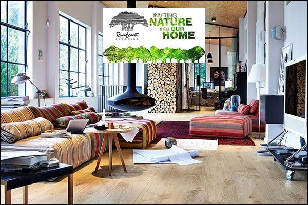 Sàn gỗ Rainforest 8mm