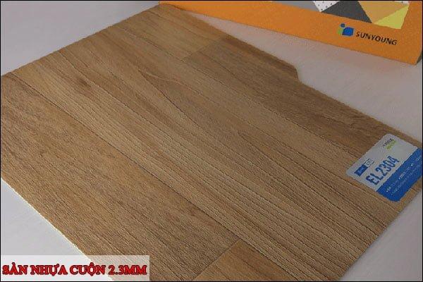 Sàn nhựa cuộn 2.3mm