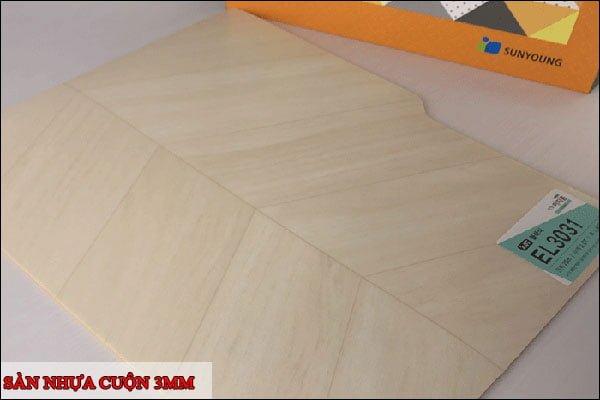 Sàn nhựa cuộn 3mm
