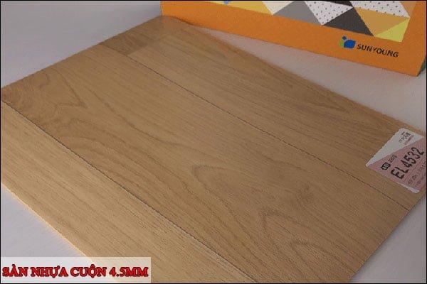 Sàn nhựa cuộn 4.5mm