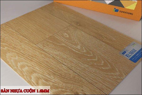 Sàn nhựa cuộn 1.6mm