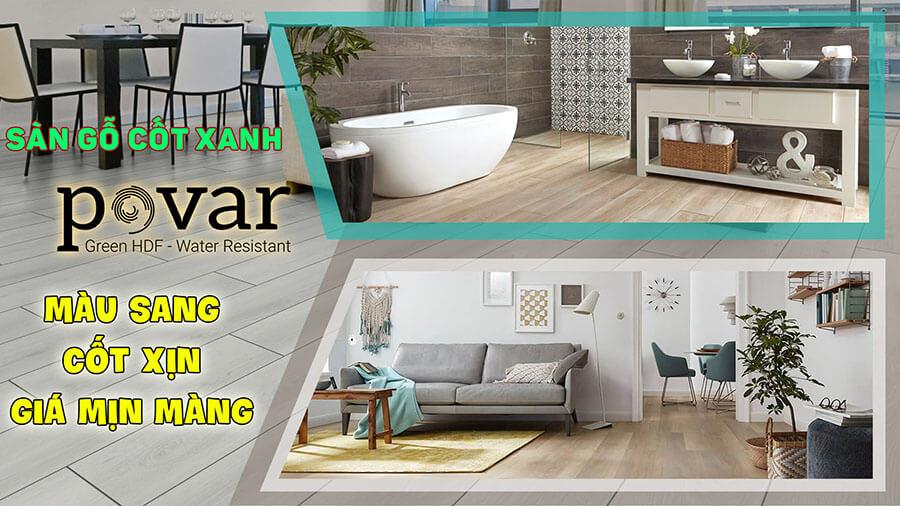 Sàn gỗ Povar